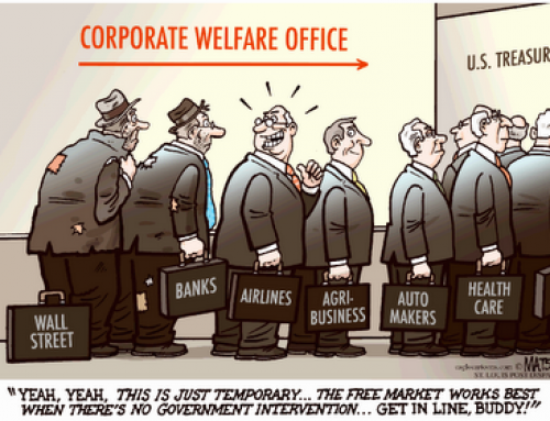 "Republican ""Stimulus"" is Corporate Welfare"