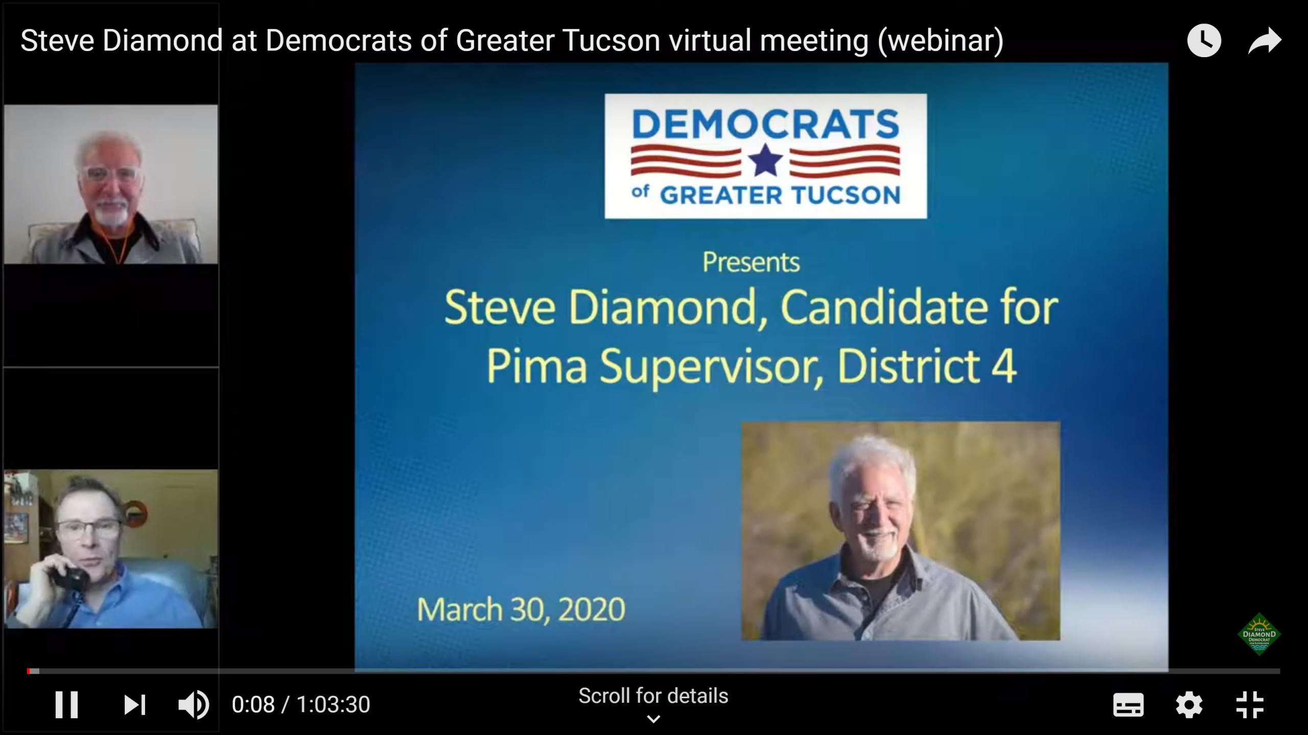 Steve Diamond Webinar