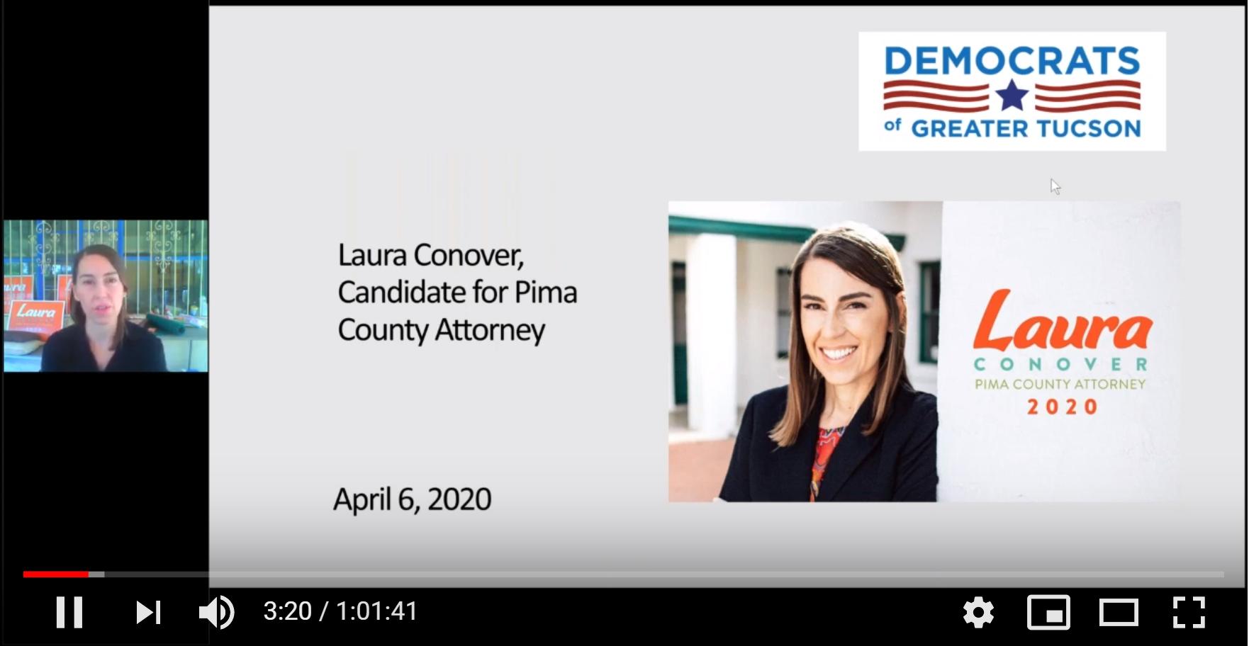 Recording of Laura Conover Webinar Now Online