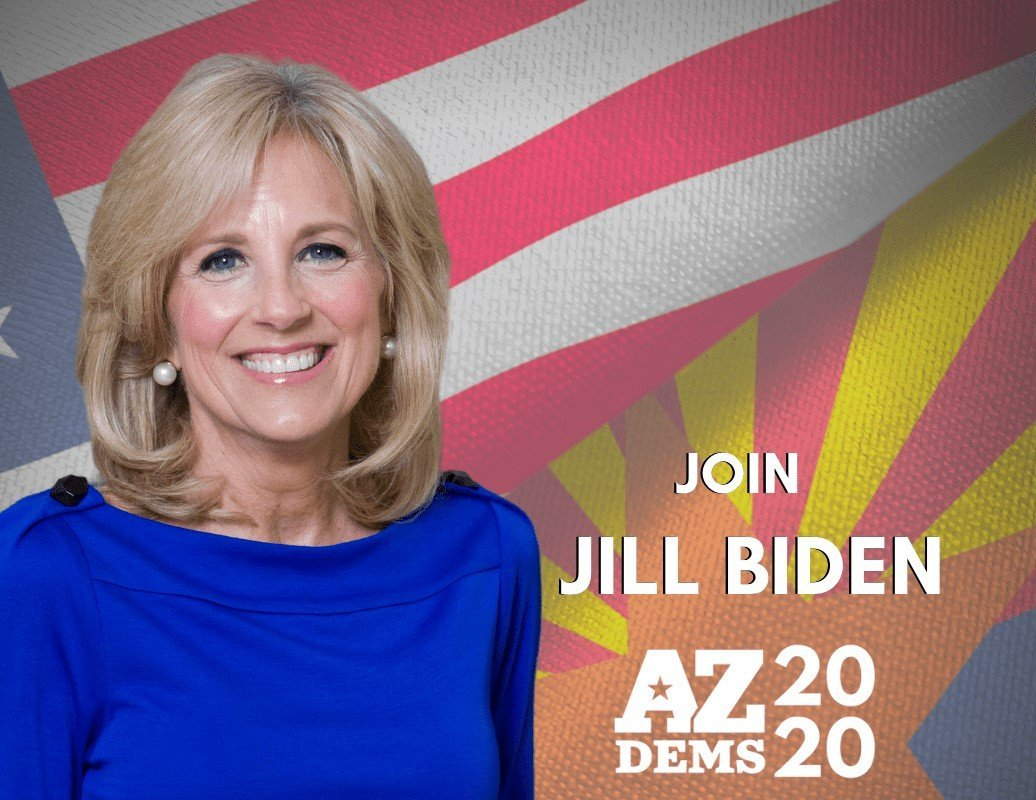 Dr. Jill Biden Holds Virtual Meetings with Arizona Democratic Activists and Educators