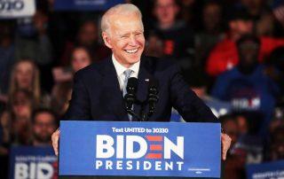 Joe Biden landscape