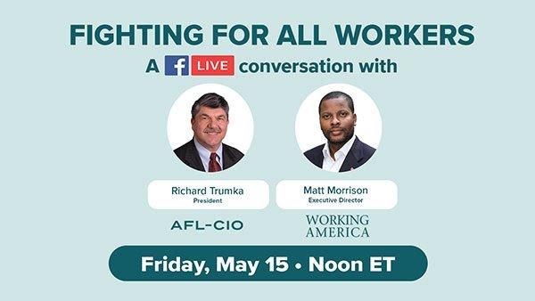 AFL CIO Facebook Live