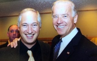 Joe Biden and Rabbi Michael Beals