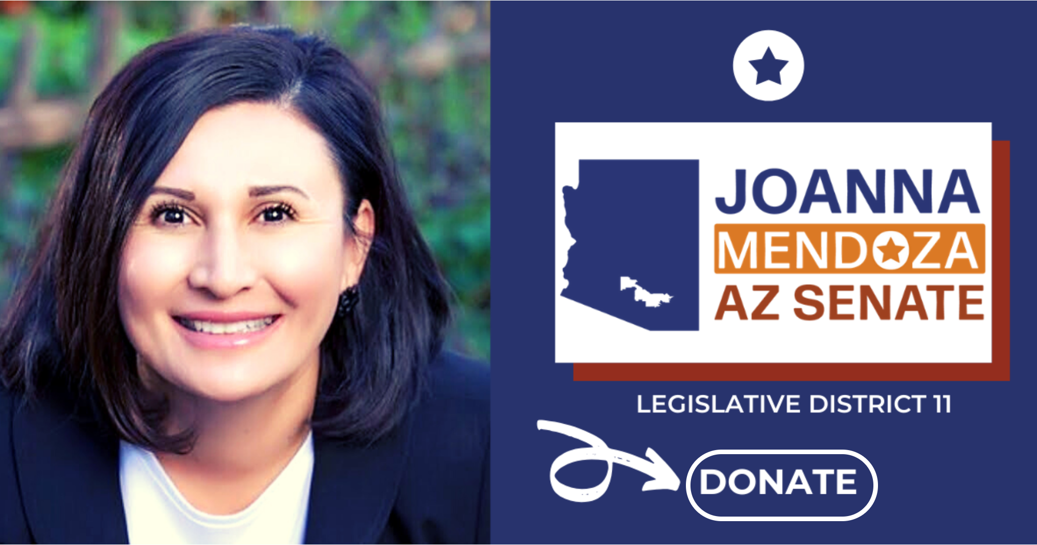 Video: JoAnna Mendoza, Candidate for AZ Senate in LD11