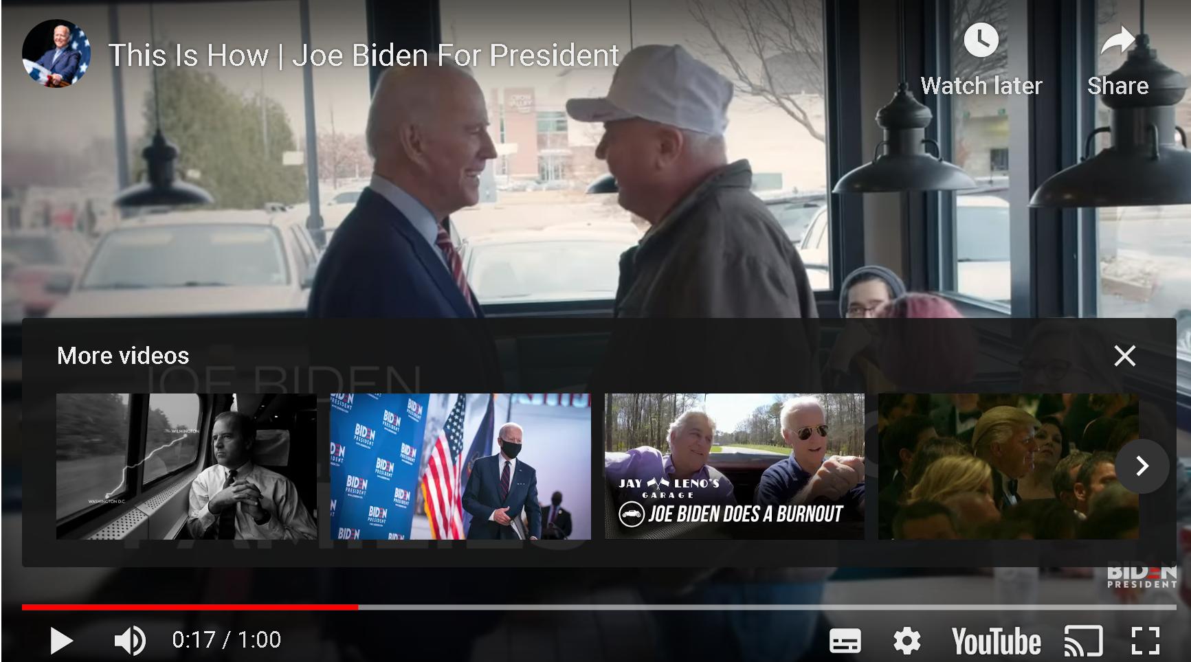 Video: Biden Will Build Back America