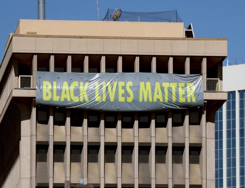 DGT President Bodine Supports 'Black Lives Matter' Banner on City Hall