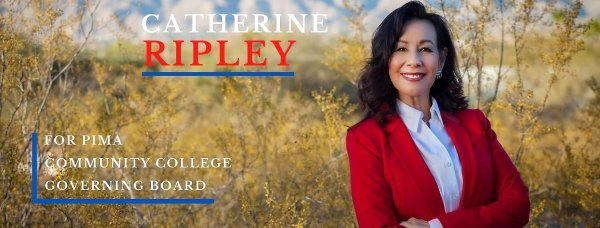 VIDEO: Catherine Ripley, candidate for Pima Community College Board