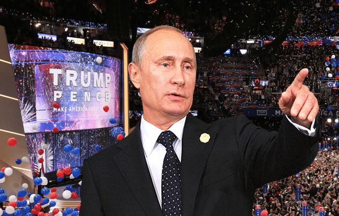 Putin Delivers Keynote Address at RNC