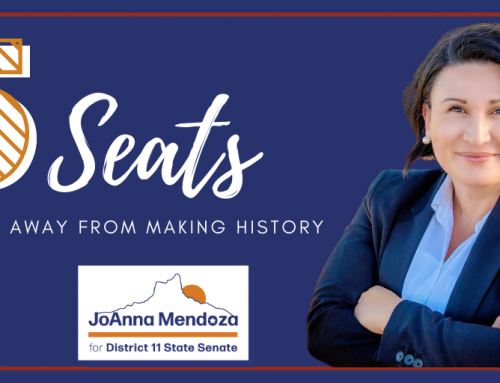 LD11 Officially a 'Flippable District' to Blue for JoAnna Mendoza and Felipe Perez