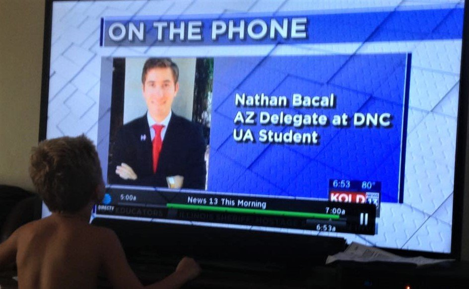 """Thinking About Volunteering? Democrat Nathan Bacall says, """"DO IT"""""""