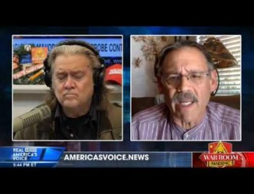 Mark Finchem Spreads Scary Claims while Bonding with Indicted Steve Bannon