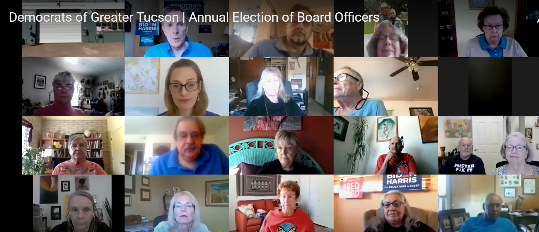 DGT Members Elect Board Members for 2021