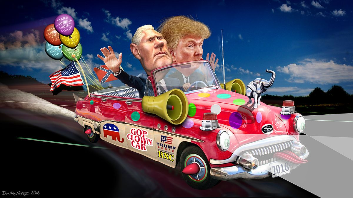 GOP Clown Car of Lawsuits Finally Crashes