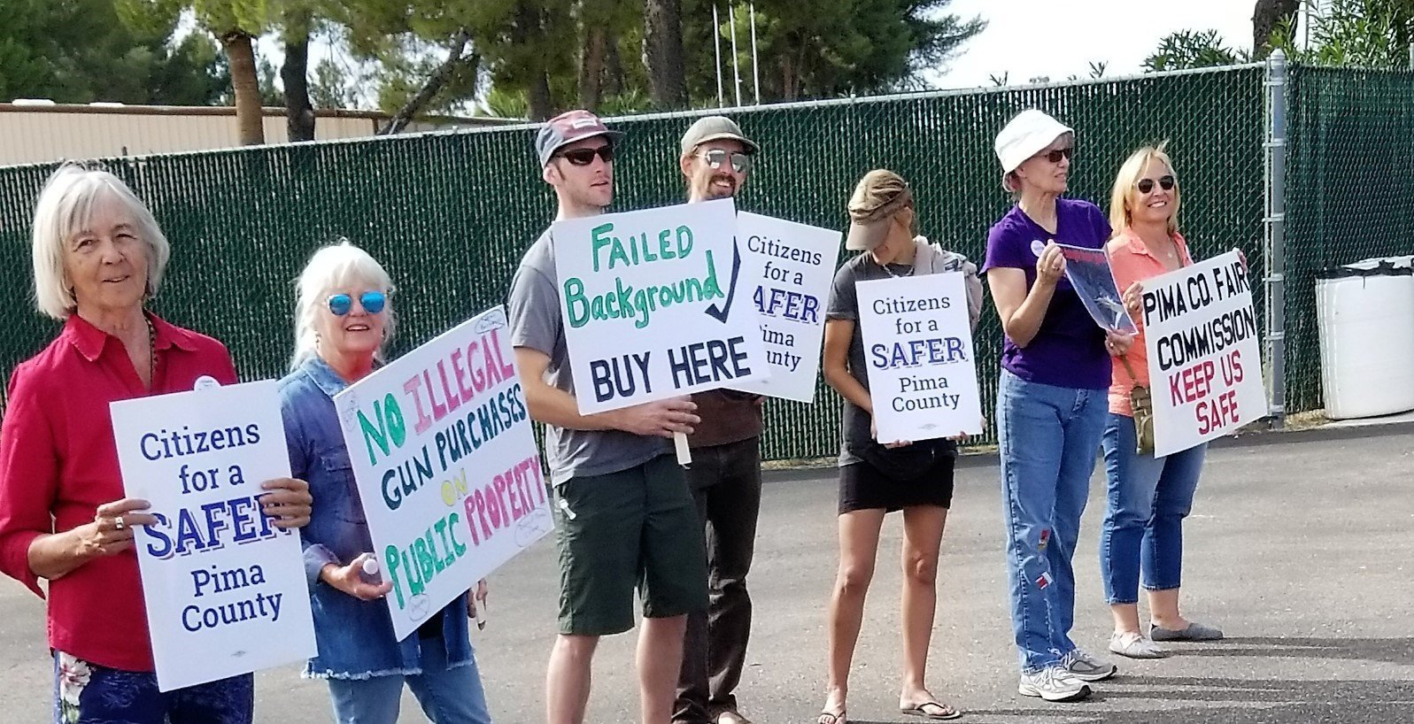 County Leaders Support Gun Show Background Checks