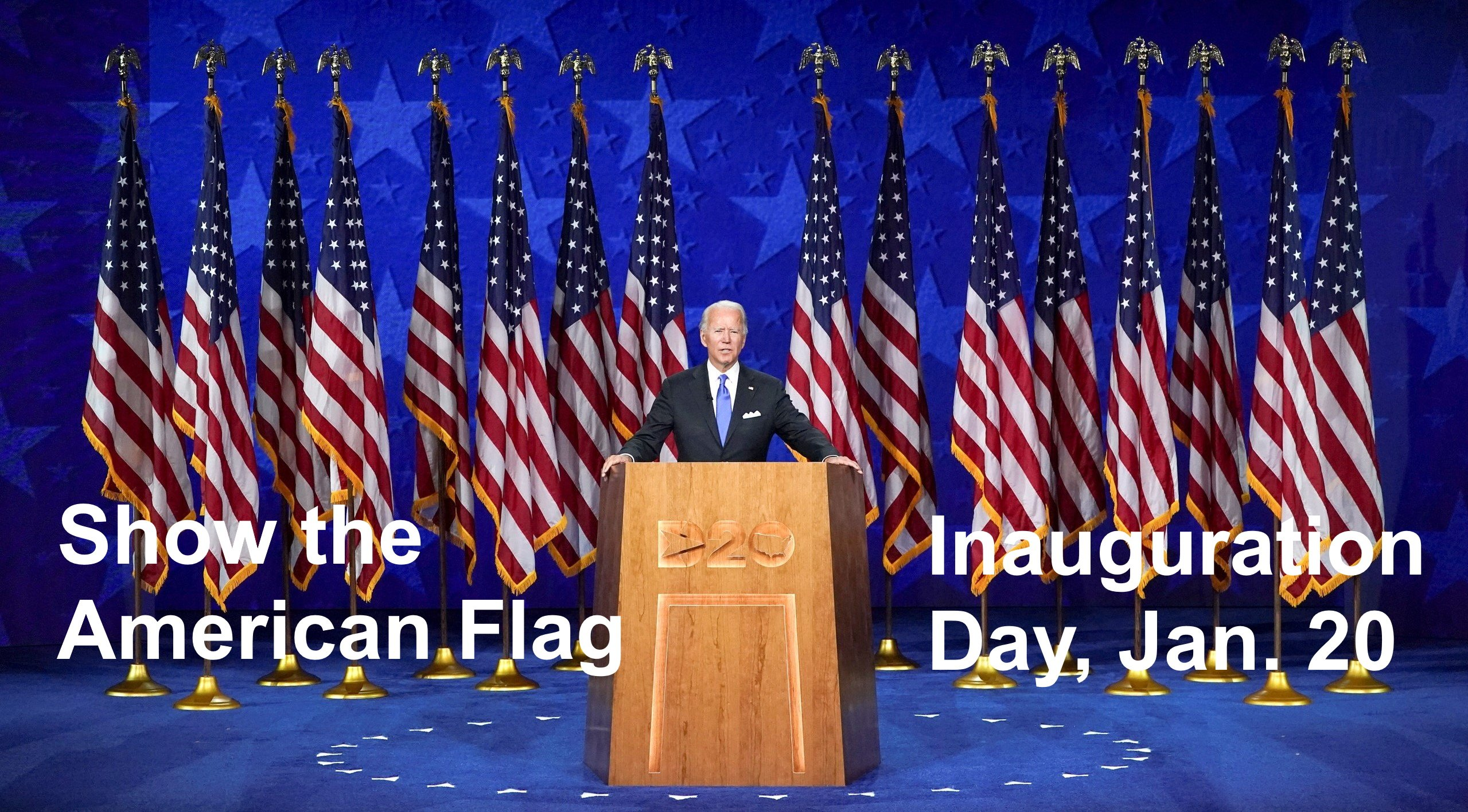 Democrats, Hoist Your Flag on Inauguration Day
