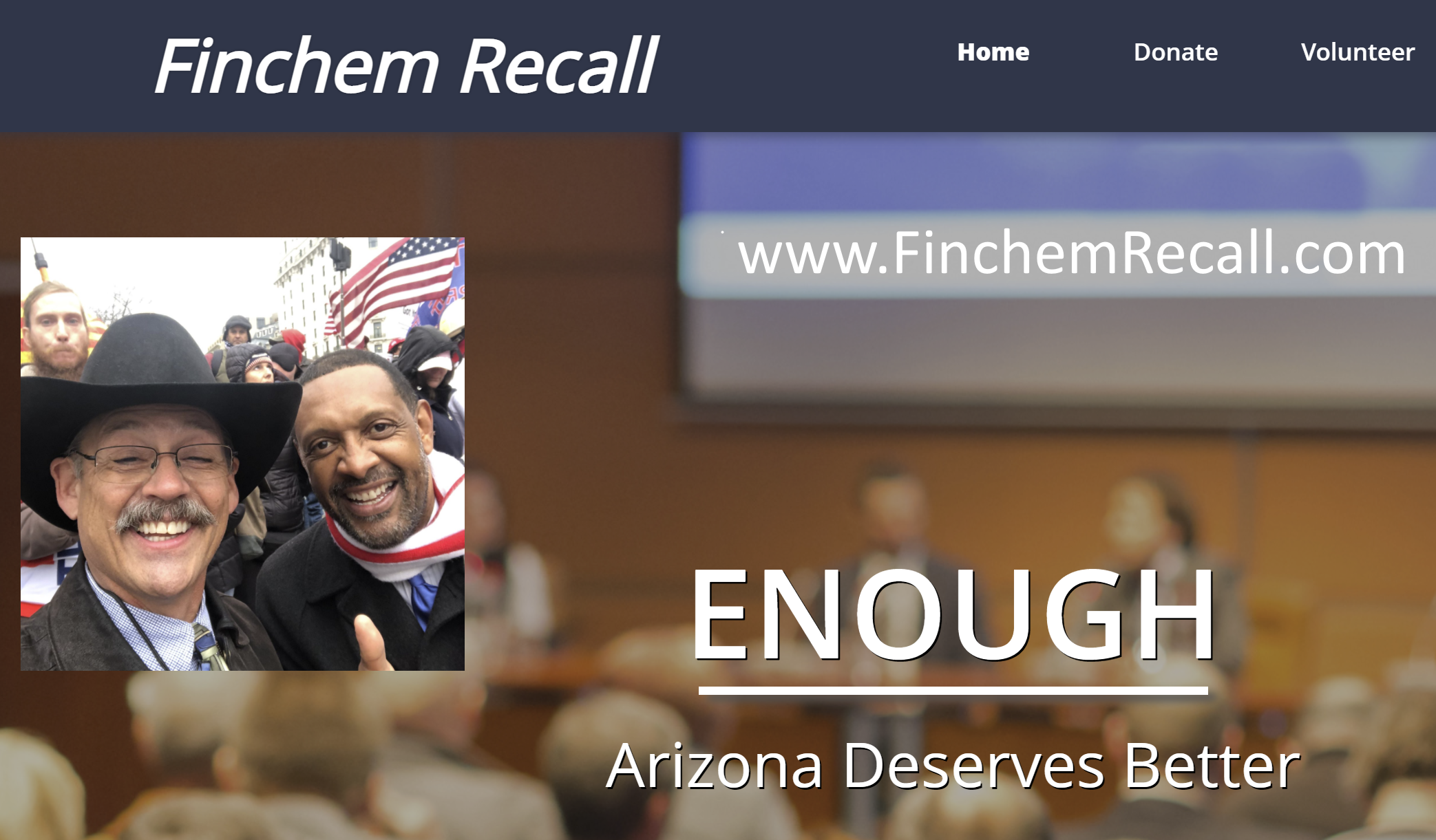 Recall Effort Launches to Oust Insurrectionist Rep. Mark Finchem