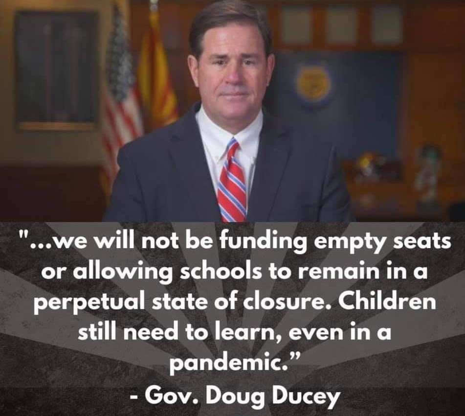 Doug Ducey Goes to War Against Arizona's Public Schools