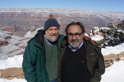 Kevin Dahl, City Council Candidate, at the Grand Canyon with Congressman Raúl M. Grijalva (D-CD3)