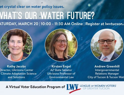 What's Our Water Future?