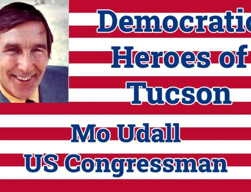 Democrat Mo Udall was Tucson's Progressive Light in Congress for 30 Years