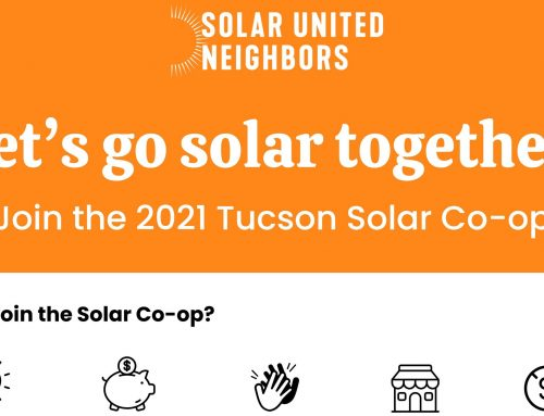 Go Solar Together with Tucson Solar Co-Op Launch